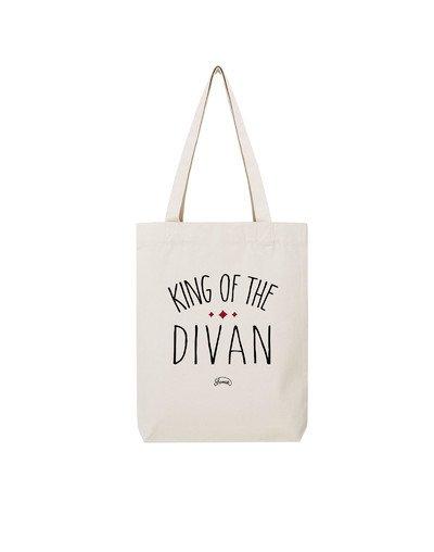 """Tote Bag """"King of the divan"""""""