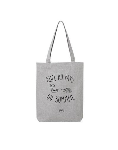 "Tote Bag ""Alice sommeil"""