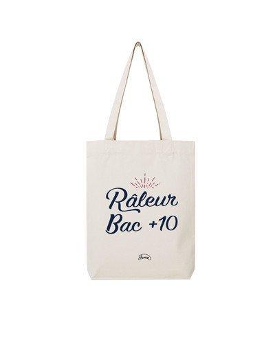 "Tote Bag ""Raleur bac+10"""