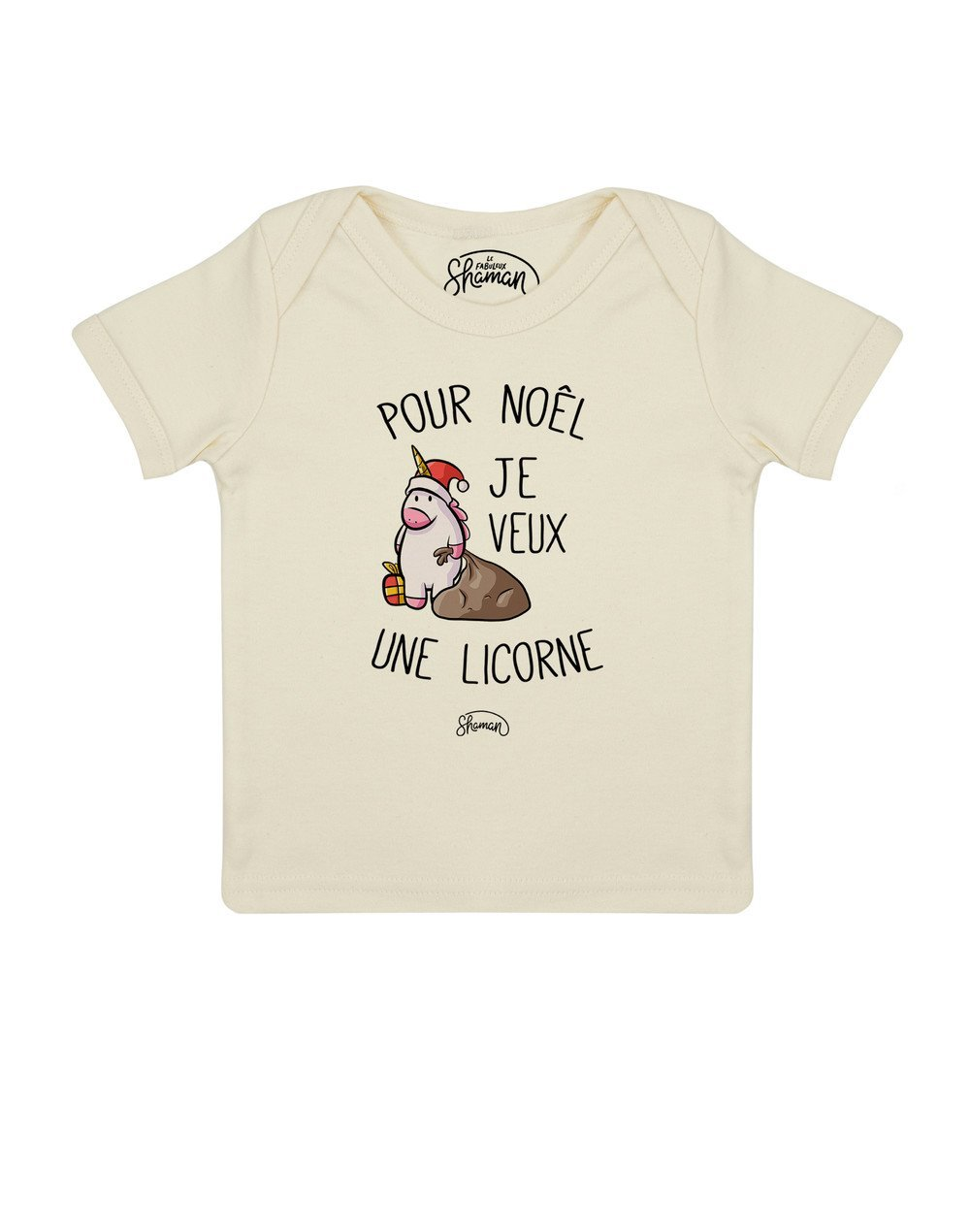 Tee shirt Noel licorne