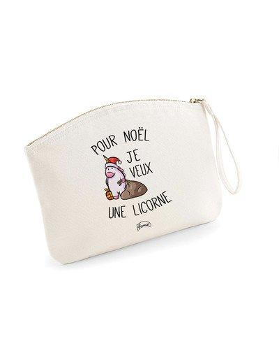 """Pochette """"Noël Licorne"""""""