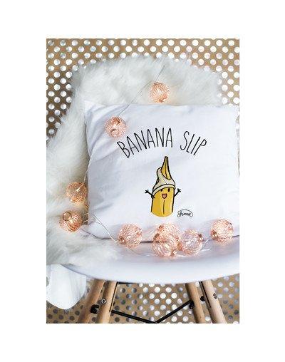 """Coussin """"Banana slip"""""""
