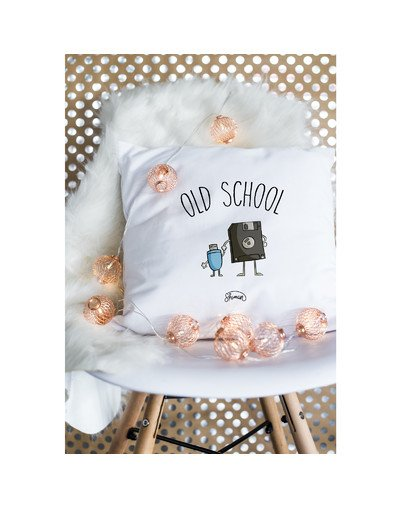 "Coussin ""old school"""