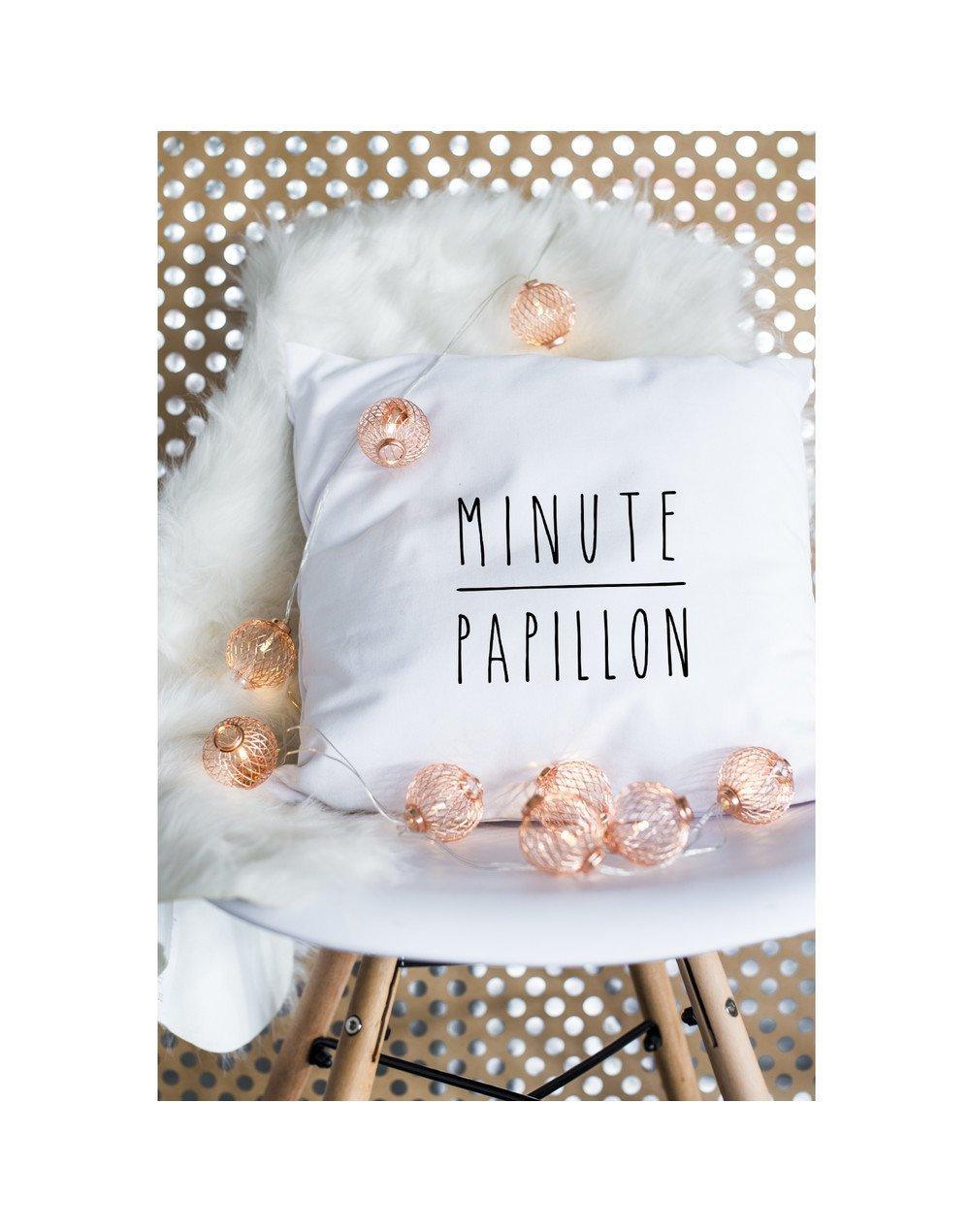 """Coussin """"Minute papillion"""""""