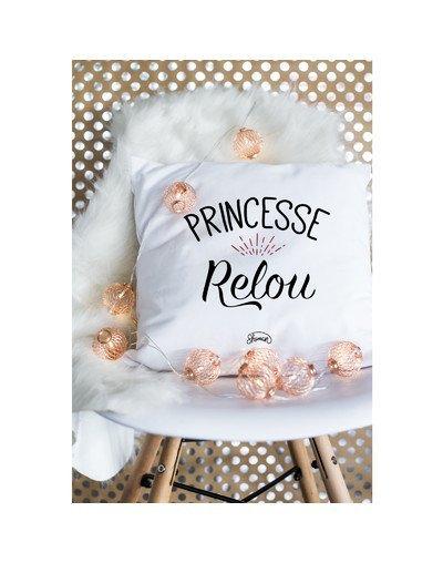 "Coussin ""Princesse relou"""