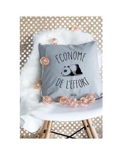 """Coussin """"Econome de l'effort"""""""
