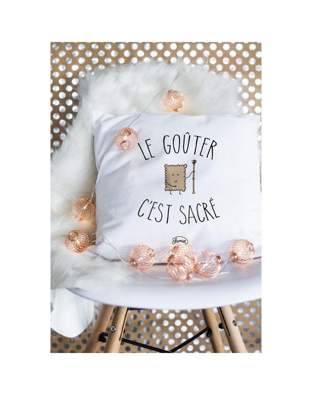 """Coussin """"Le gouter"""""""