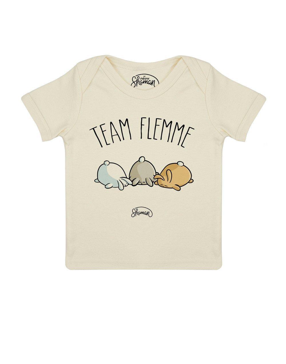 Tee shirt Wesh Team flemme