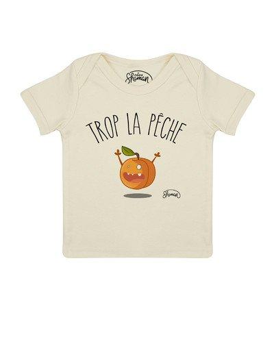 """Tee shirt """"Trop la pêche"""""""