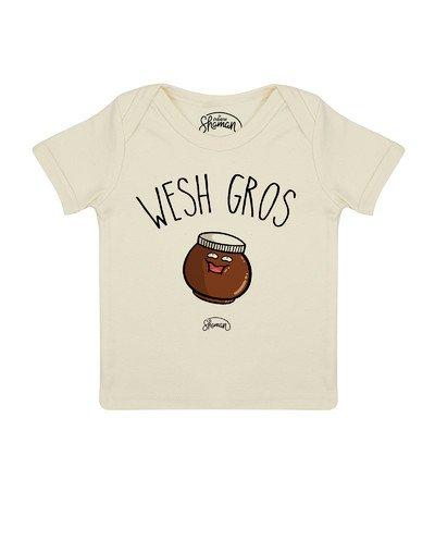 Tee shirt Wesh gros