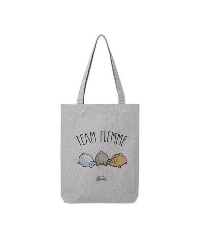 """Tote Bag """"Team flemme"""""""