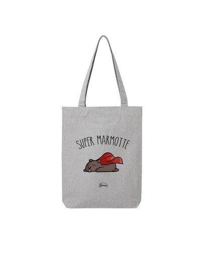 "Tote Bag ""Super marmotte"""
