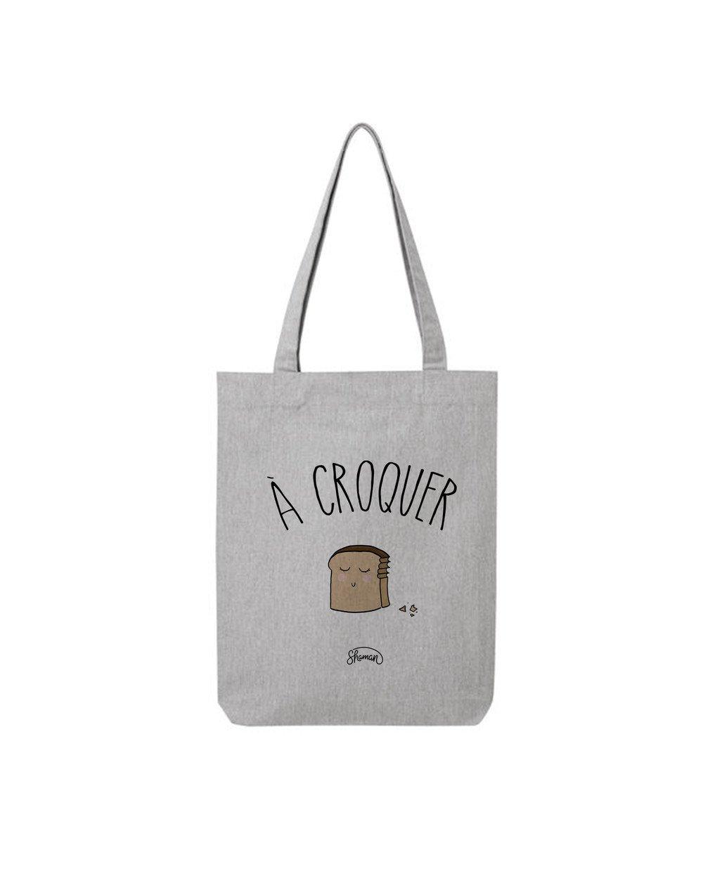 """Tote Bag """"A croquer"""