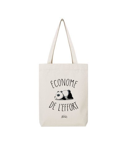 "Tote Bag ""Econome de l'effort"""