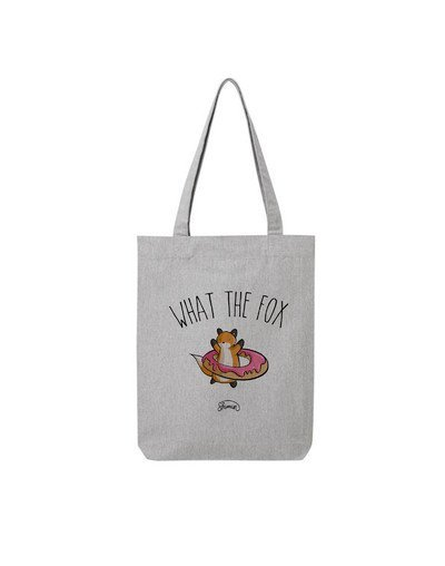 "Tote Bag ""What the fox"""