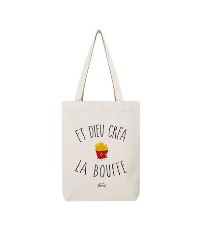 "Tote Bag ""dieu bouffe"""