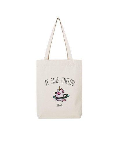 "Tote Bag ""Je suis chelou"""