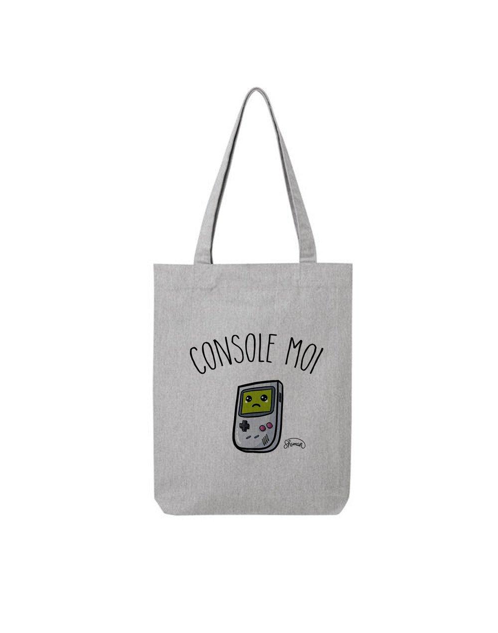 "Tote Bag ""Console moi"""