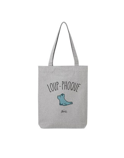 "Tote Bag ""Loup phoque"""