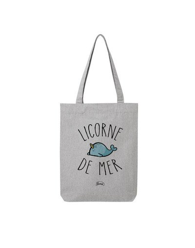 "Tote Bag ""Licorne de mer"""