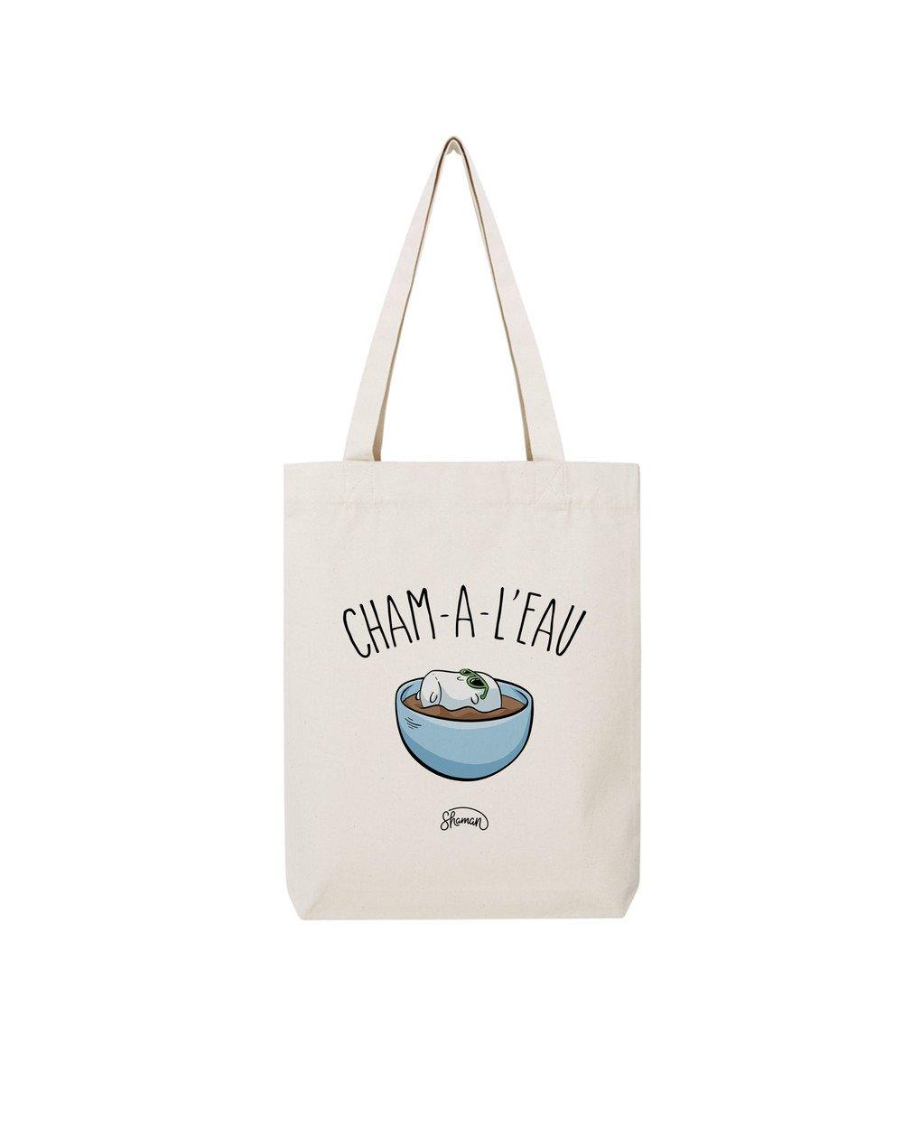 "Tote Bag ""Cham à l'eau"""