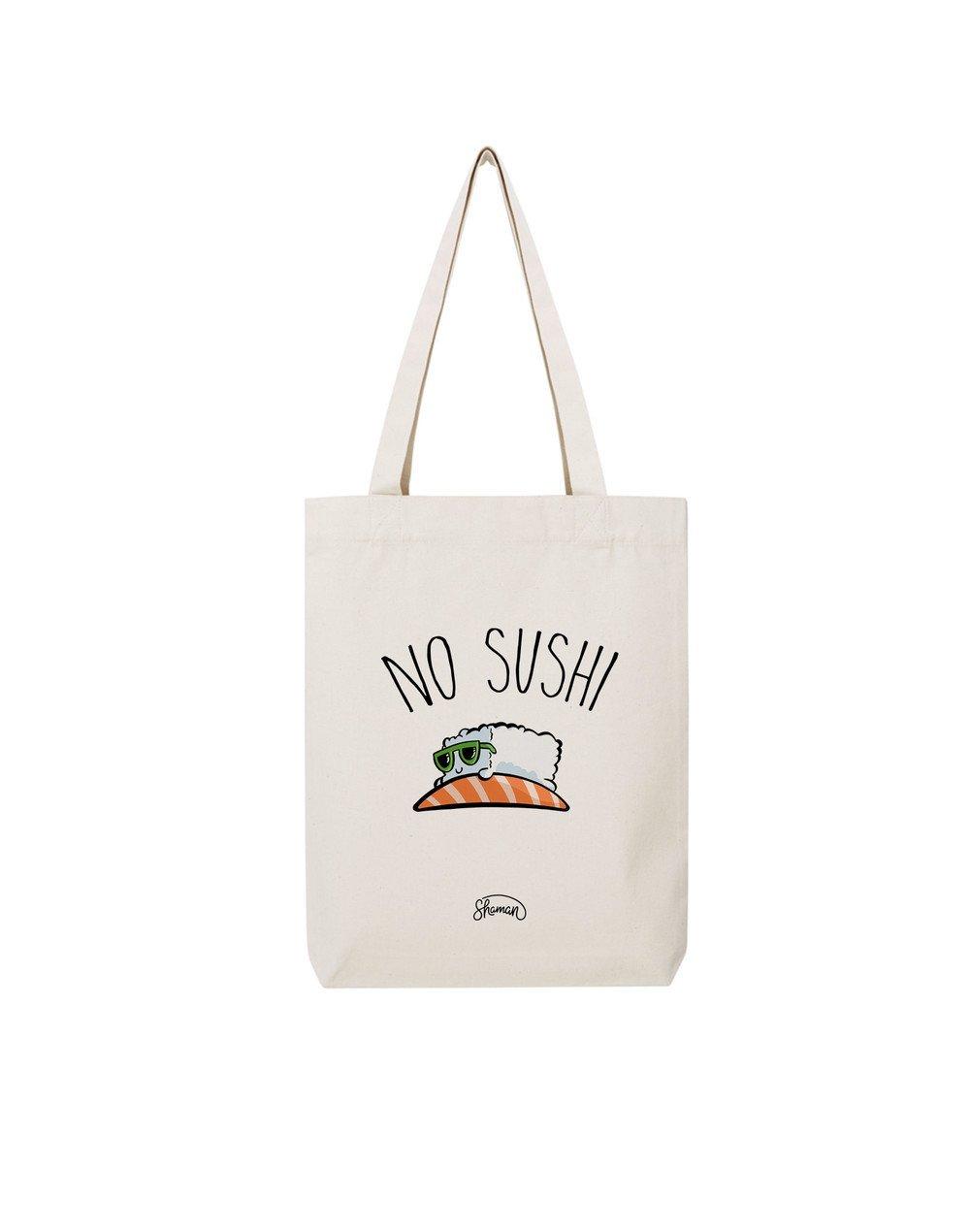 """Tote Bag """"No sushi"""""""