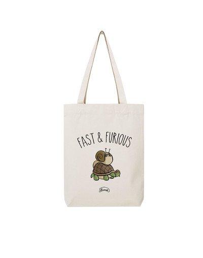 "Tote Bag ""Fast escargot"""