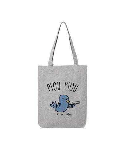 "Tote Bag ""Piou Piou"""