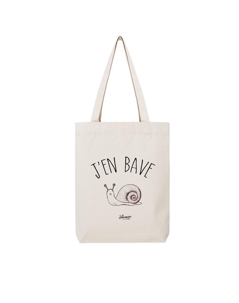 """Tote Bag """"J'en bave"""""""