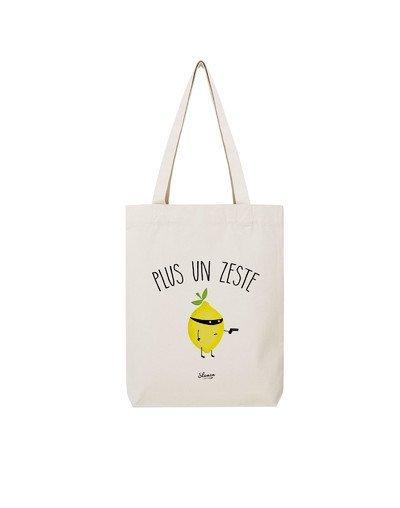 """Tote Bag """"Plus un zeste"""""""
