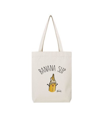 """Tote Bag """"Banana slip"""""""