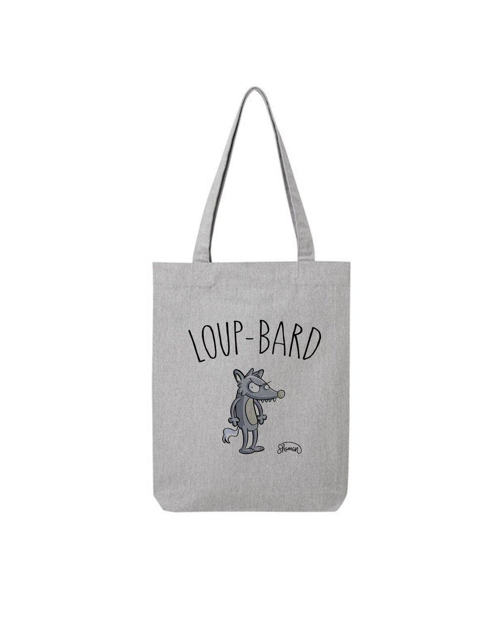 """Tote Bag """"Loup bard"""""""