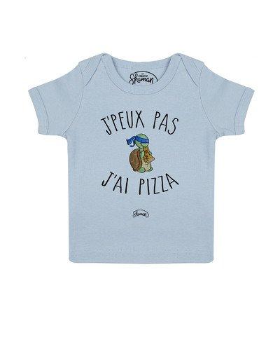 Tee shirt Peux pas pizza