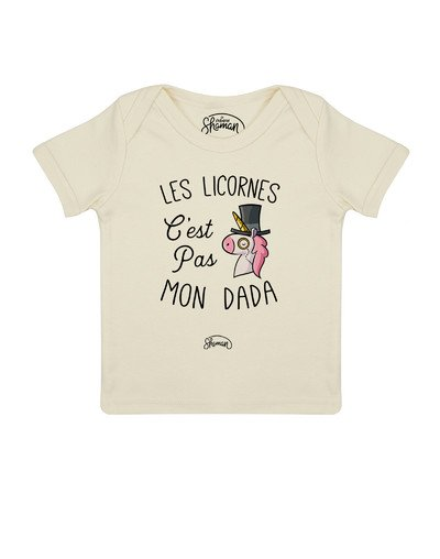 Tee shirt Licorne dada