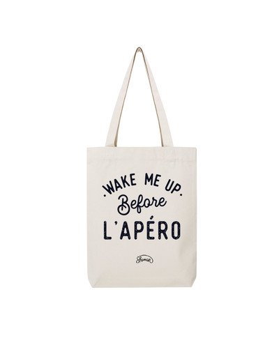 "Tote Bag ""Wake me up"""