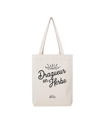 """Tote Bag """"Dragueur en herbe"""""""