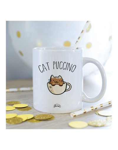 Mug Cat puccino