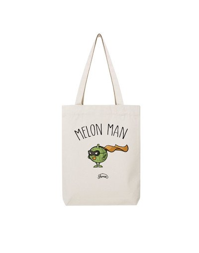 """Tote Bag """"Melon man"""""""