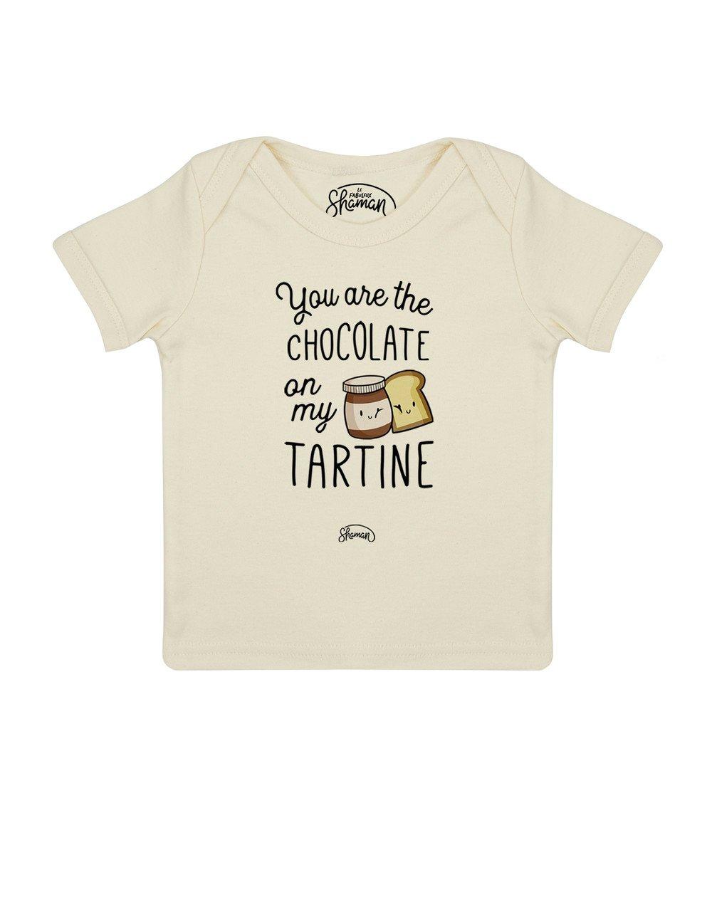 Tee shirt Chocolate tartine