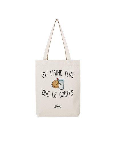 "Tote Bag ""Je t'aime goûter"""