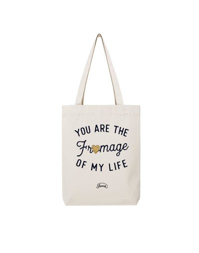 "Tote Bag ""Fromage life"""
