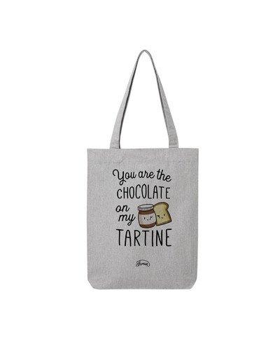 """Tote Bag """"Chocolat tartine"""""""