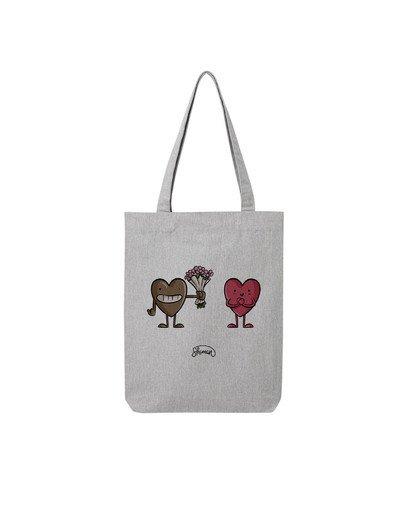 """Tote Bag """"Coeur love coeur"""""""
