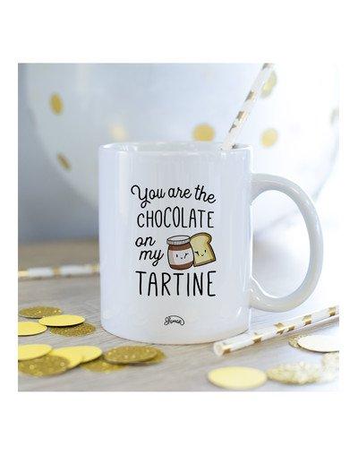 "Mug ""Chocolat tartine"""