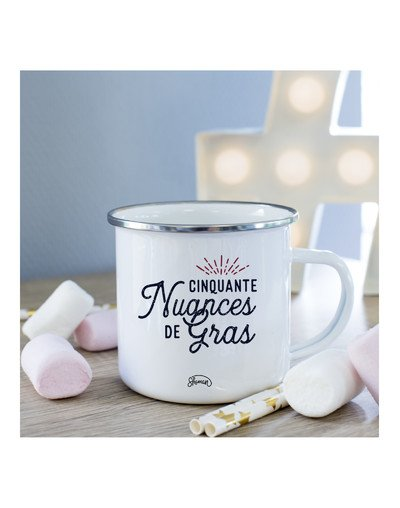 """Mug """"50 nuances de gras"""""""
