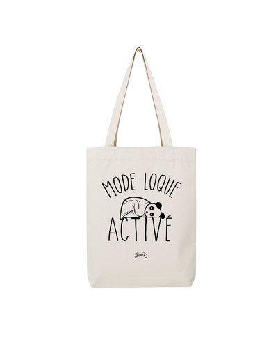 "Tote Bag ""Mode loque"""