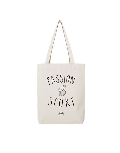"Tote Bag ""Passion sport"""