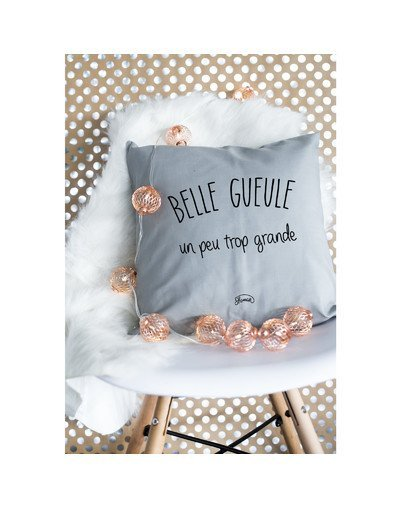 """Coussin """"Belle gueule"""""""