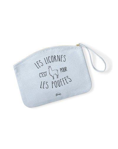 "Pochette ""Licornes pouffes"""