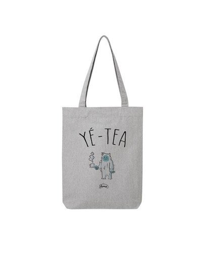 "Tote Bag ""Yé-tea"""